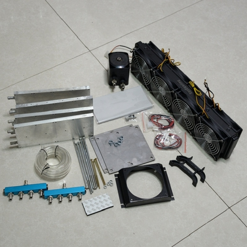Syscooling water cooling kit for miners ultra quiet DIY liquid cooling for antminer S7 S9 M3 V9 D3 A3 T9+ L3