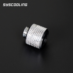 Syscooling hard tube connector G1/4 thread fast twist
