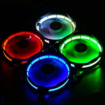 Syscooling 120*120*25 colorful RGB fan DC 12V 20DB